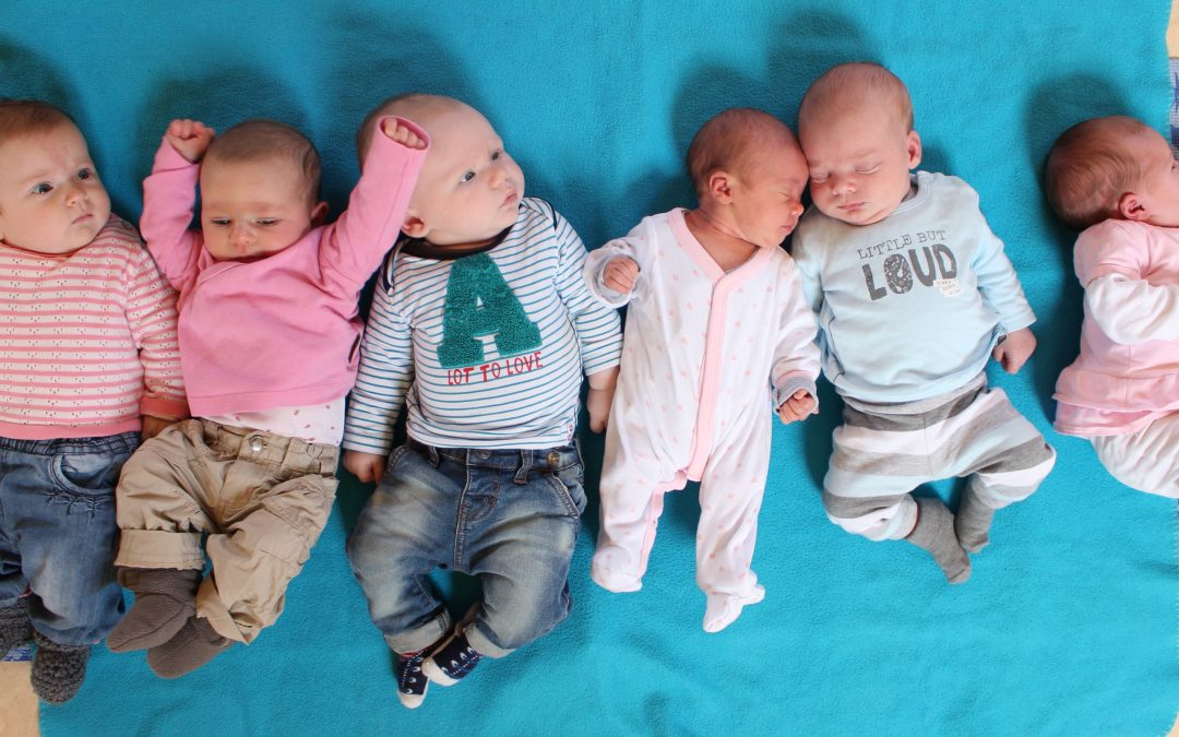 Grote baby's, kleine baby's